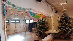 Оформление новогоднего зала