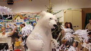 Снежное шоу для детей Версаль