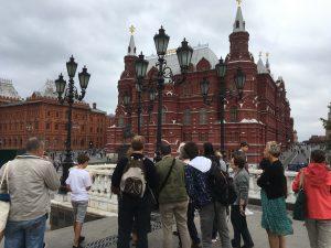 23/07/2019 Экскурсия на Красную площадь