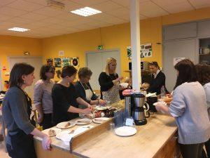 atelier de cuisine russe